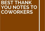 Thank You to Boss Card 13 Best Thank You Notes to Coworkers with Images Best