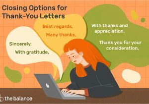 Thank You Very Much Card Thank You Letter Closing Examples