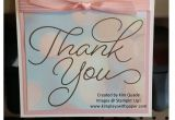 Thank You Very Much Card Thank You so Very Much Thanks Card Stampin Up Cards