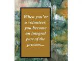 Thank You Volunteer Card Wording Thank You Card Volunteer
