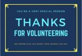 Thank You Volunteer Card Wording Volunteer Thank You Cards