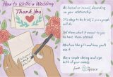 Thank You Wedding Card Message Wedding Thank You Note Wording Examples