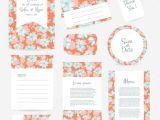 Thank You Wedding Card Wording Vector Gentle Wedding Cards Template Stock Vector