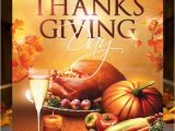 Thanksgiving Day Flyer Templates Free 20 Best Psd Thanksgiving Flyer Templates Print Idesignow
