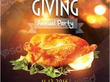 Thanksgiving Day Flyer Templates Free Thanksgiving Annual Party Free Flyer Template Download