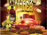 Thanksgiving Dinner Flyer Template Free 49 Dinner Invitation Templates Psd Ai Word Free