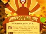 Thanksgiving Dinner Flyer Template Free Thanksgiving Day Flyer Flyer Templates On Creative Market