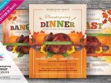 Thanksgiving Dinner Flyer Template Free Thanksgiving Dinner Flyer Templates Flyer Templates