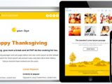 Thanksgiving Email Template for Outlook Free Responsive Email Template Thanksgiving theme