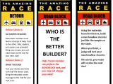 The Amazing Race Clue Template Amazing Race 11th Birthday Party Profoundly ordinary