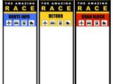 The Amazing Race Clue Template Run the Amazing Race Boys Birthday Party Sugar Plum Sisters