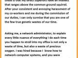 The Best Cover Letter Ever Written Best Resignation Letter Ever Written Bio Letter format