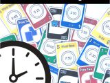 The Blank Card In Uno Telling the Time Card Game Digital and Analog Clocks In 2020