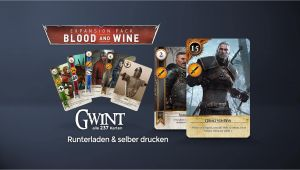 The Bloody Baron Unique Card Selber Basteln Gwint Kartenset Gwent Playing Cards Dlc