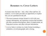 The Importance Of Cover Letters Importance Of Resume and Cover Letter