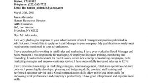The Perfect Cover Letter Uk Retail Management Cover Letters Retail Manager Cover