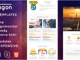 Theme forest Templates themeforest Avagon Responsive Email Templates