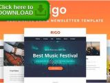 Themeforest Email Templates Free Download top 25 Best Mailchimp Newsletter Templates Ideas On