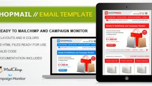 Themeforest HTML Email Template Shop Mail HTML Email Template by Janio Araujo themeforest