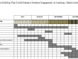 Thesis Timeline Template Dissertation Proposal Schedule