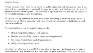 Things to Say In A Cover Letter for A Job Things to Say In A Cover Letter for A Job Letters Font