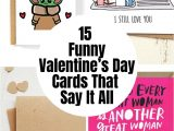Things to Say On A Valentine S Day Card 15 Funny Valentine S Day Cards that Say It All