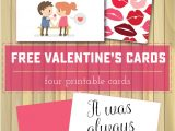 Things to Say On A Valentine S Day Card Printable Valentine S Day Cards Sweet Anne Designs