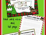 Things to Write In A Christmas Card Christmas Writing Activities Holiday Writing Task Cards