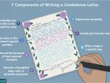 Things to Write In A Farewell Card for A Friend How to Write A Condolence Letter or Sympathy Note