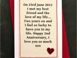 Things to Write In An Anniversary Card when We Met Personalised Anniversary Card with Images