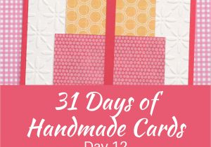 Thinking Of You Diy Card 31 Days Of Handmade Cards Day 12 Easy Birthday Cards Diy