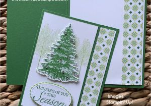 Thinking Of You Diy Card August S Holiday Card Club Christmas Tree Cards Holiday
