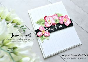 Thinking Of You Diy Card Climbing orchid Card orchid Card orchids Flower Cards