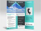 Three Page Brochure Template Diseno De Folleto En Triptico Para Imprimir Kabytes