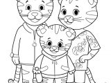 Tiger Puppet Template Daniel Tiger Coloring Page 10 Coloring Pages for Kids