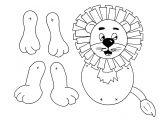 Tiger Puppet Template Lion Template Download Pdf Puppet School Pinterest