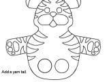 Tiger Puppet Template Pin Finger Puppet Templates On Pinterest