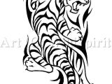 Tiger Tattoo Template Tribal Dovme Modelleri Muhtesem Otesi Dovme Tattoo Modelleri