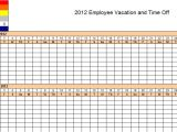 Time Off Calendar Template Employee Time Off Calendar Template 2016 Calendar