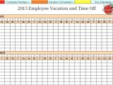 Time Off Calendar Template Employee Time Off Calendar Template Calendar Printable 2018