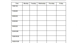 Timetable Templates for Teachers 10 Teacher Schedule Templates Doc Excel Pdf Free
