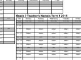Timetable Templates for Teachers Teacher Classroom Timetable Template Primaryedutech Com