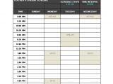 Timetable Templates for Teachers Teacher Schedule Template 9 Free Sample Example format