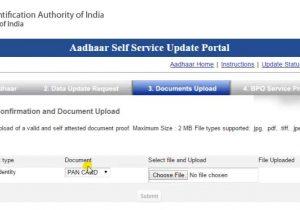 To Change Aadhar Card Name Aadhar Card Name Change