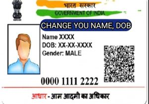 To Change Aadhar Card Name Change Name In Aadhar Card Near Me Archives Trusted News