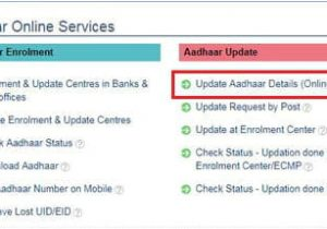To Change Aadhar Card Name How to Change Your Last Name and Address On Your Aadhaar