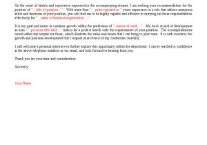 To whom It May Concern In A Cover Letter to whom It May Concern Cover Letter Samplebusinessresume