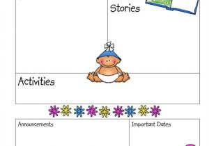 Toddler Newsletter Template 9 Kindergarten Newsletter Templates Free Samples