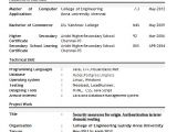 Top Fresher Resume format Professional Resume format for Freshers