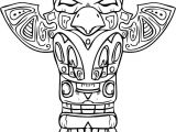 Totem Pole Design Template Free Printable totem Pole Coloring Pages for Kids